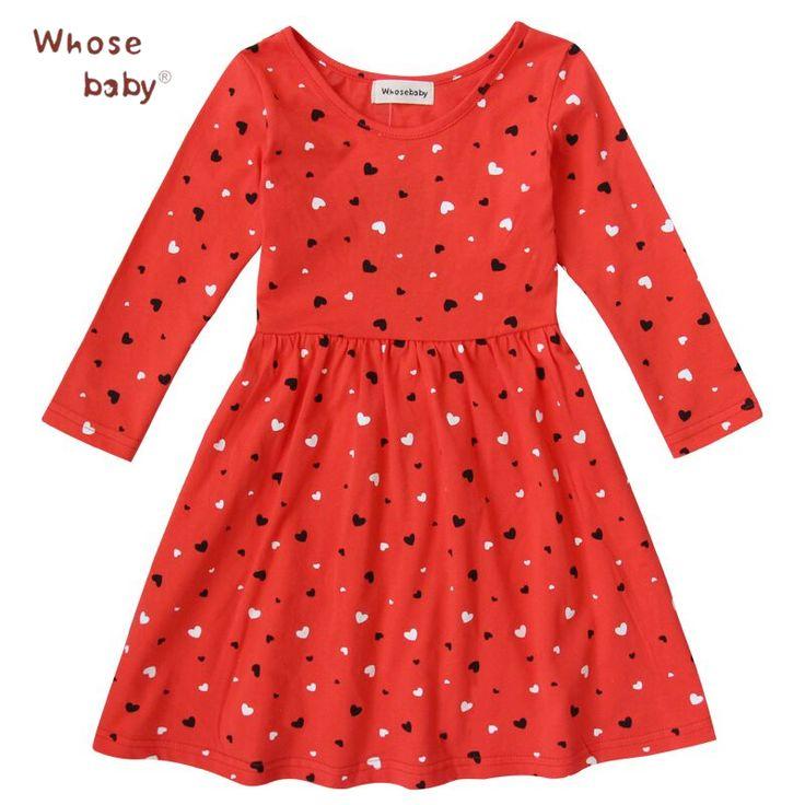 $7.19 (Buy here: https://alitems.com/g/1e8d114494ebda23ff8b16525dc3e8/?i=5&ulp=https%3A%2F%2Fwww.aliexpress.com%2Fitem%2F2015-Fishon-100-Cotton-Baby-Girls-Dress-Long-Sleeve-Red-Heart-Shape-Winter-Dresses-For-Kids%2F32472914088.html ) 2016 Fishon 100% Cotton Baby Girls Dress Long-Sleeve Red Heart-Shape Winter Dresses For Kids Children Clothes for just $7.19