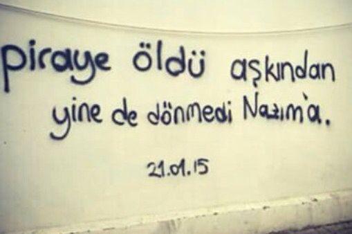Piraye öldü aşkından.. Yine de dönmedi Nazım'a ! #şiirsokakta