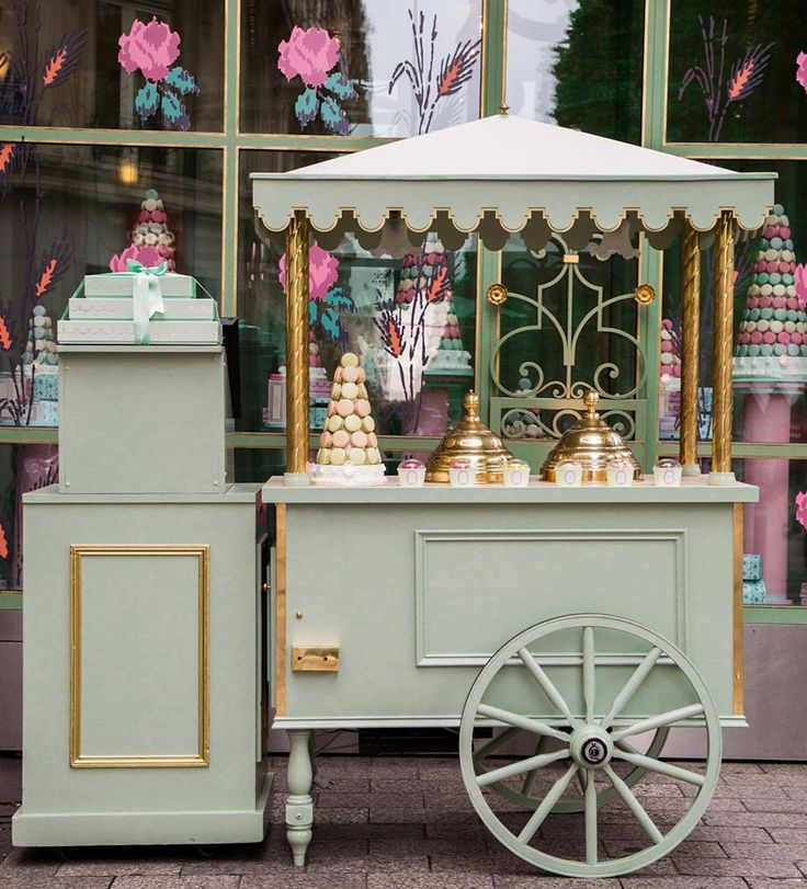 Laduree ice cream cart