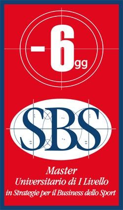 Mancano solo sei giorni all'inizio del Master SBS