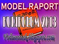 MODEL RAPORT KURIKULUM 2013