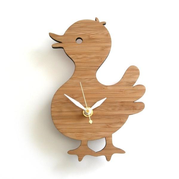 animal wall clocks for kids rooms - decoy lab