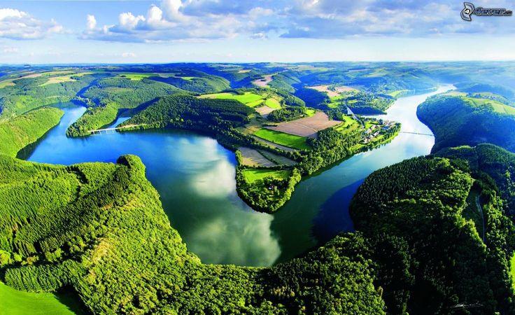 rieka lesy a lúky, Luxembursko