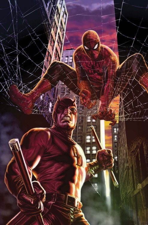 Spiderman & Daredevil