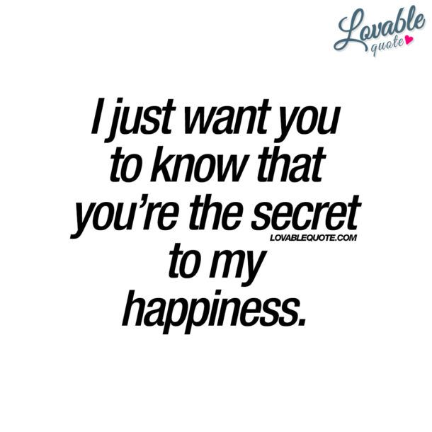 Secret dating quotes