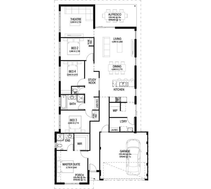 The Cott floorplan by Commodore Homes Floorplan