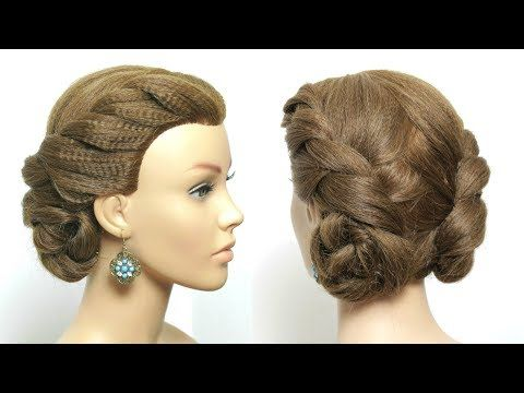 Easy Hairstyle For Long Hair Tutorial Double Twist Low Buns