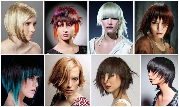 Популярные стрижки для тонких волос