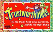 Trustworthiness - Honesty - Lesson Plan - Six Pillars of Character - Character Counts - Popcorn Park