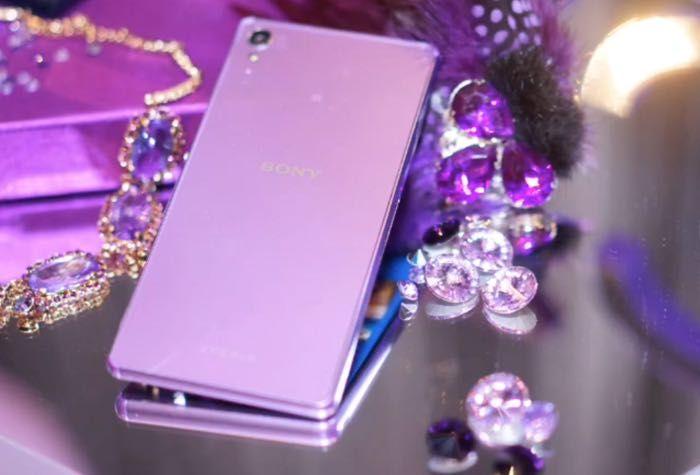 Purple Diamond Edition Sony Xperia Z3