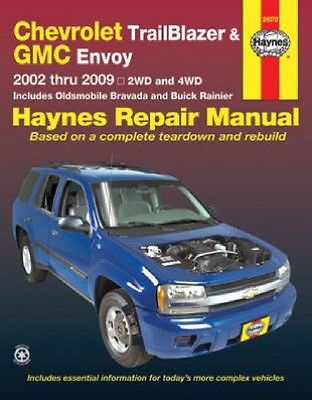 2002 - 2009 chevy #trailblazer, gmc #envoy olds #bravada haynes repair manual 296,  View more on the LINK: 	http://www.zeppy.io/product/gb/2/160396650492/