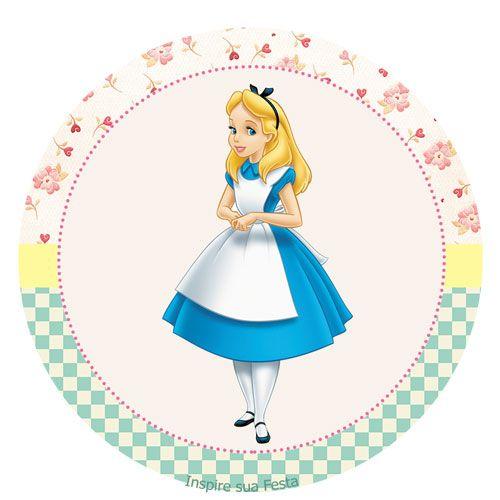 Alice no País das Maravilhas – Kit festa grátis para imprimir – Blog Inspire sua Festa