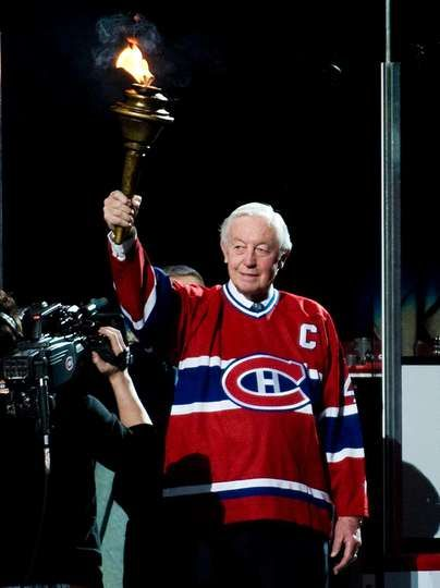 Jean Béliveau en images - 31/08/2014 - Canadiens de Montréal - Photos