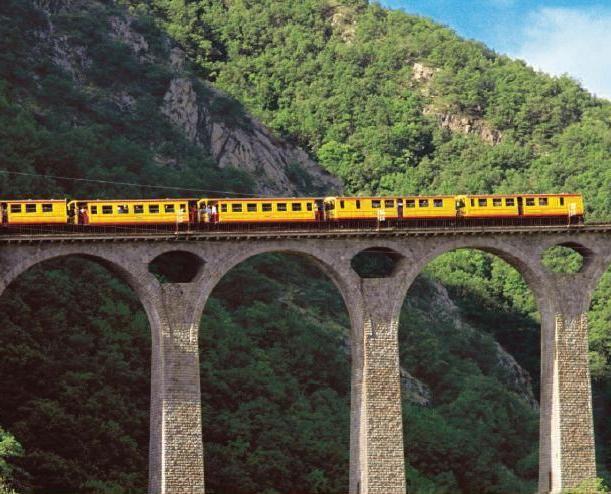 Petit Train Jaune, Pyrenees Orientales
