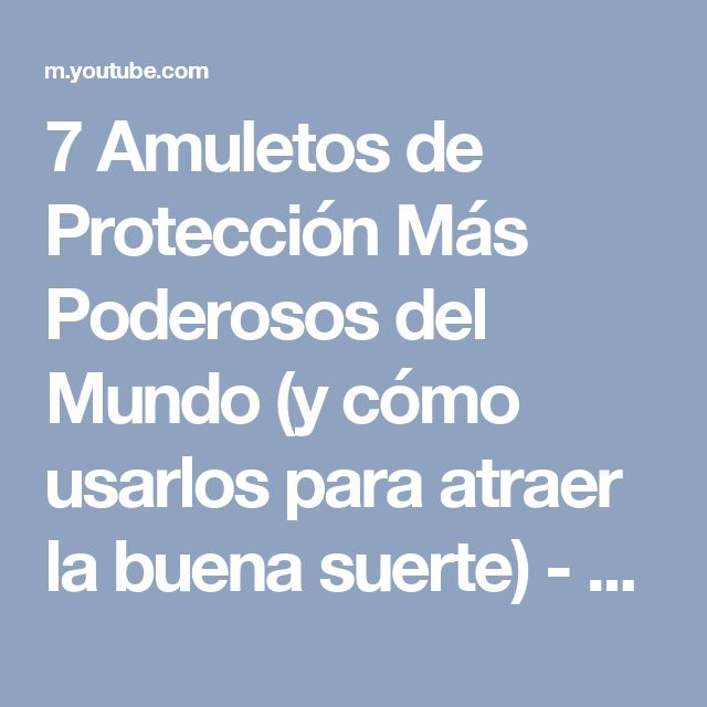 25 best ideas about amuletos de la suerte on pinterest - Como me quito la mala suerte ...