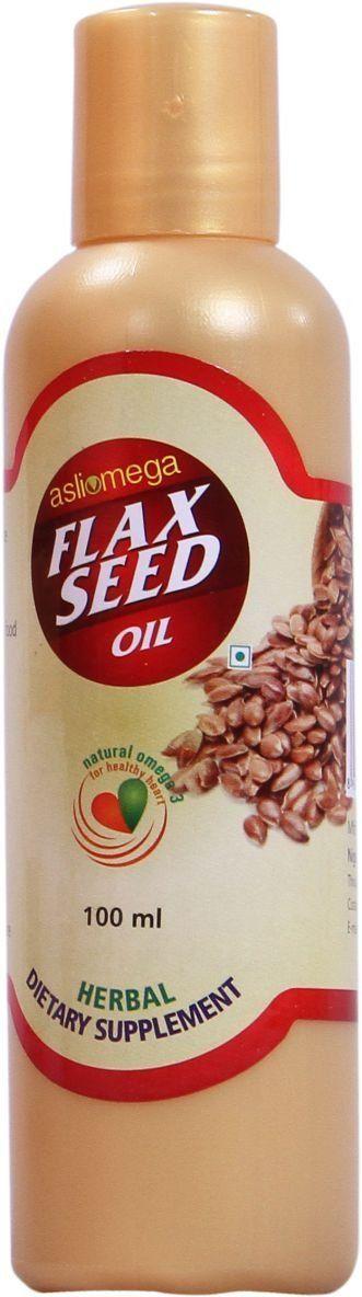 #asli #omega #flax #seed #oil 100ML*2