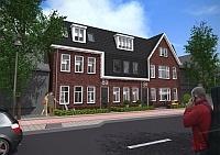 Dit stijlvolle ontwerp biedt ruimte aan negen 2-kamer appartementen. Een nieuwbouwproject vlakbij het centrum van Wormerveer. Kom naar de informatieavond van de Zaanse Nieuwbouwdagen op 11 april 2013.