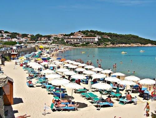 Baja Sardinia Italy  city photo : Baja Beach in Sardinia, Italy | I went to Sardinia | Pinterest