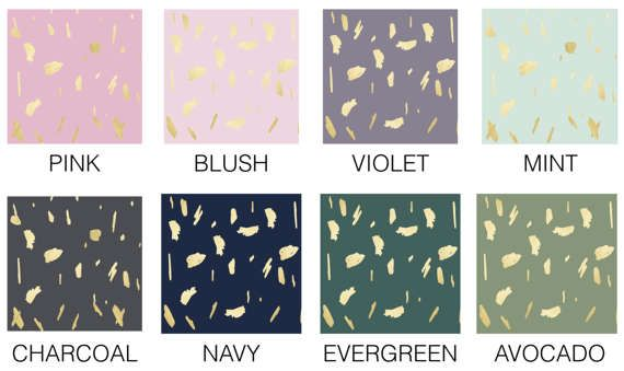 Wall Decor MADE IN USA Wallpaper Peel & Stick Self Adhesive Temporary Removable Wall paper Gold Dots Daubs Gray Grey Gold Paint Splatter