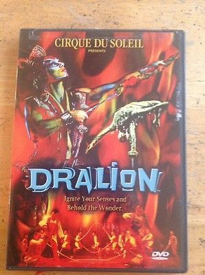 Cirque du Soleil - Dralion (DVD, 2001)Authentic US