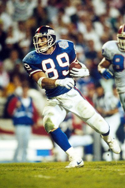 New York Giants Tight End Mark Bavaro - #nyg _super bowl xxv