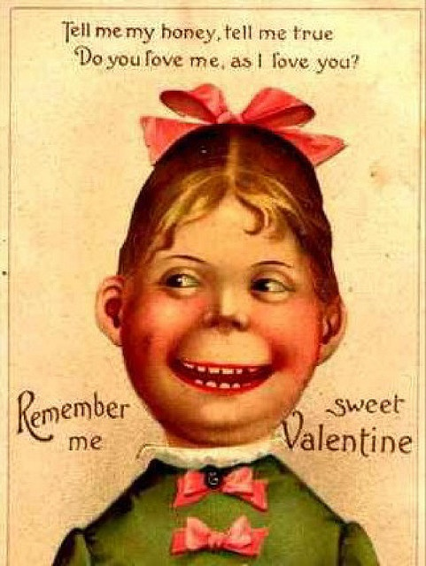 79 best Creepy or Unintentionally Dirty Valentines images on – Stalker Valentine Card