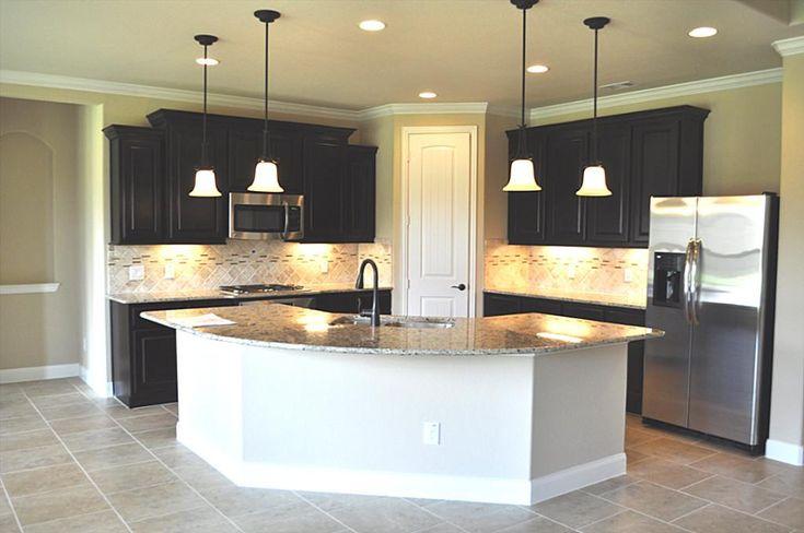 Gourmet Kitchen Boasts Beautiful Granite Counter Tops