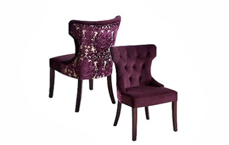 Love These Purple Damask Dining Chairs From Pier 1 179