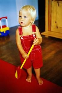 """How to get a toddler to Help with """"clean up"""""""