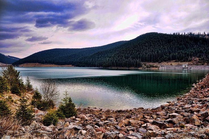 Frumoasa Lake, Harghita county, Romania.