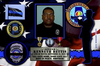 Jeff Dunn, Commissioner of the State of Alabama Department of Corrections, sadly reports the death of Corrections Officer Kenneth Bettis. http://www.lawenforcementtoday.com/in-memoriam-corrections-officer-kenneth-bettis/