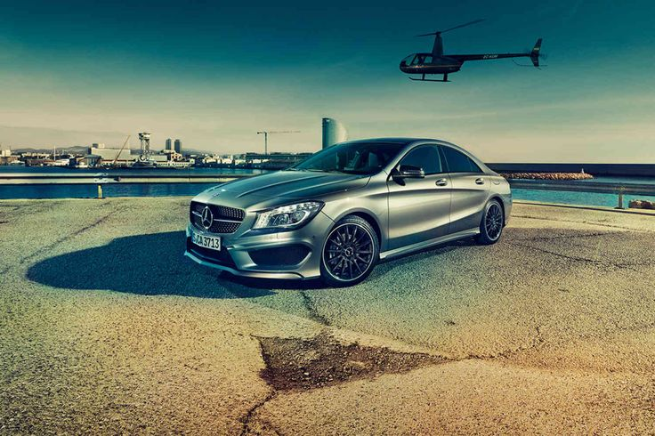 Mercedes Benz CLA: Veronika, der Benz ist da - Der neue CLA ist ein echtes Designstatement von Mercedes. Ein Test in Barcelona - GQ