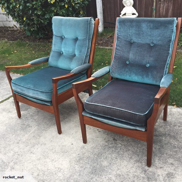 Best Pair Retro Cintique Armchairs Trade Me With Images 400 x 300