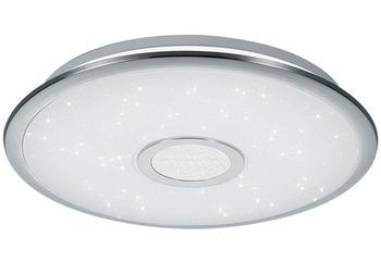 TRIO Leuchten LED-Deckenleuchte, »SHOGUN« für 99,99€. Moderne LED-Deckenleuchte, Mit Fernbedienung, Dimmbar, Nachtlicht, Energieeffizienzklasse A bei OTTO