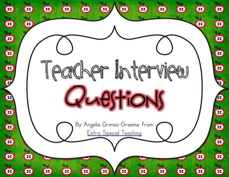 Best 25+ Teaching interview ideas on Pinterest Teaching job - first interview tips