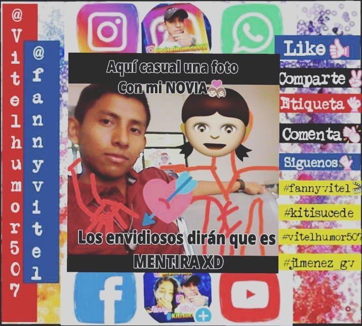 Esa gente envidiosa que no creé q tengo novia aquí está la prueba�������������� #jimenez_gv #vitelhumor507�� #fannyvitel�� #kitisucede #memes #panama #panama507 #pty #pty507 #507 #meme #humorgrafico #humor #virales #vines #gif #gifgif #insta #parejas #porqueeresasi #happy http://quotags.net/ipost/1647597147624688115/?code=BbdcOBdHcnz
