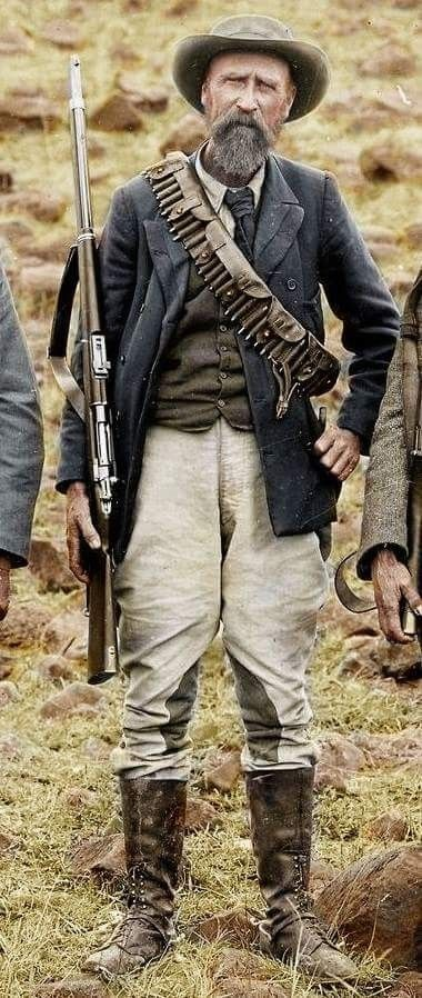 Boer soldier fighting the British Empire