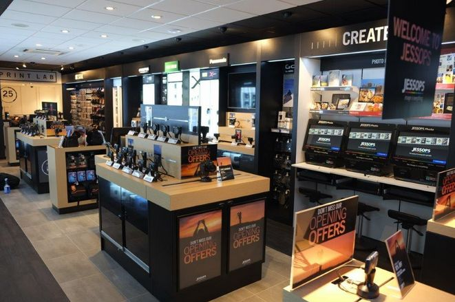 Inside the new store in Hull
