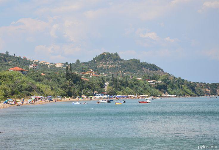 Kobi beach outside Koroni! www.pylos.info #koroni #beach #sand #messinia #peloponnese #greece