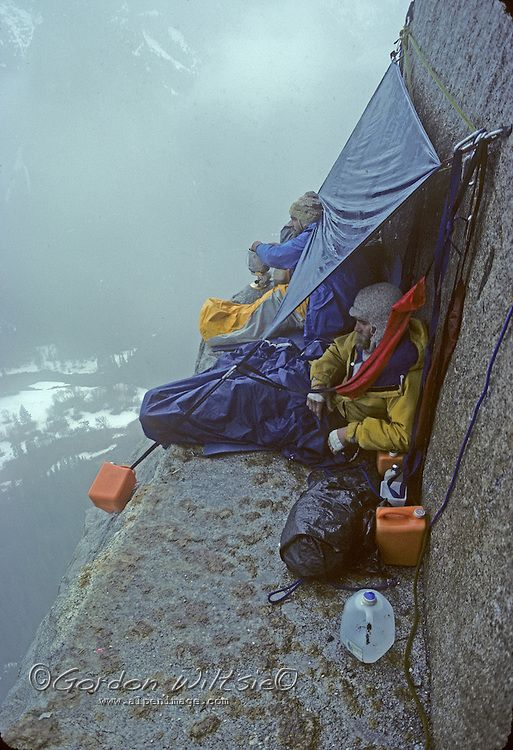 Extreme camping. #MeetTheMoment
