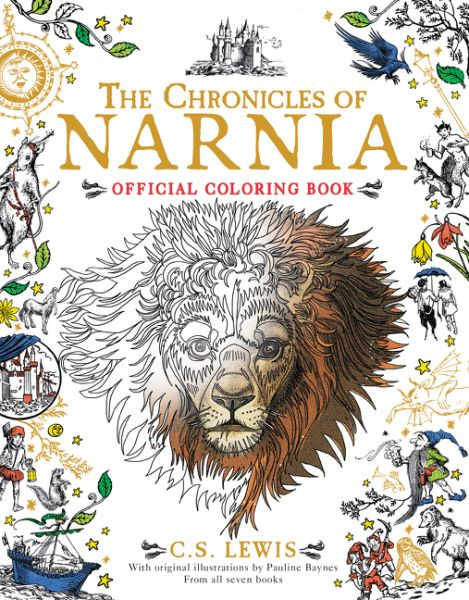 Harper Collins Releases Narnia Colouring Book | NarniaWeb ~ Okay, definitely add this to my Christmas Wish List!!!