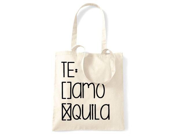 Jutebeutel Tequila