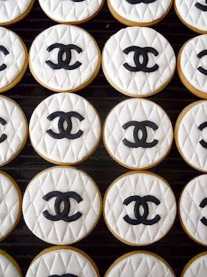 Chanel party cookies