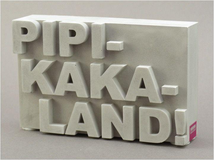 Deko-Objekte – Pipikakaland! Baddeko,Geschenk Mütter Väter Eltern – ein Designerstück von schoenpfeffer-invocem bei DaWanda