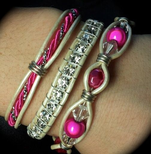 Wire Bracelets With Charms 2: Pin By Janet Crane On Bracelets