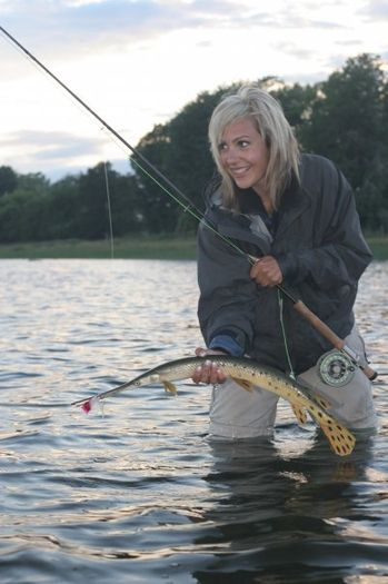 Beautiful Women Fishing had to go so relaxing after hard night !!!! any one fancy a go