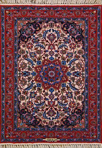 Esfahan Persian Rug, Buy Handmade Esfahan Persian Rug 2 4 x 3 2, Authentic Persian Rug $1,280.00 Buy Authentic Persian Rugs at OLDCARPET  #isfahan #isfahanrug #antiquecarpet #antiquecarpets #antiquerug #antiquerugs #carpets #handknotted #handknottedrug #handmade #iran #iranianrug #oldcarpet #orientalcarpet #orientalcarpets #orientalrug #orientalrugs #persiancarpet #persiancarpets #persianrug #art #love #beauty #loveit