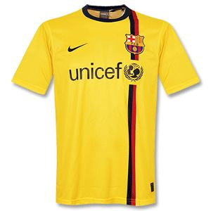 Nike 08-09 Barcelona Away Kick Off Shirt - Yellow 08-09 Barcelona Away Kick Off Shirt - Yellow http://www.comparestoreprices.co.uk/football-shirts/nike-08-09-barcelona-away-kick-off-shirt--yellow.asp