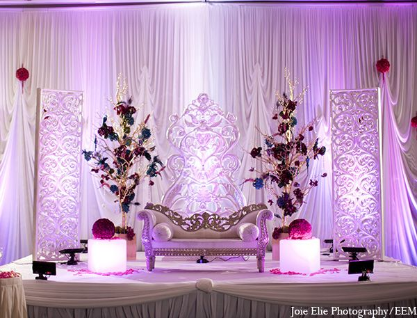 Indian Wedding Reception Decor Floral Http