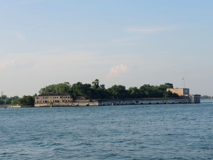 The fortress Island of Sant'Andrea